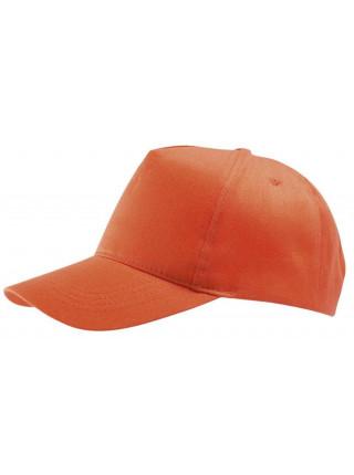 Бейсболка Buzz, оранжевая