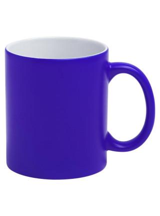 Кружка «Хамелеон», матовая, синяя