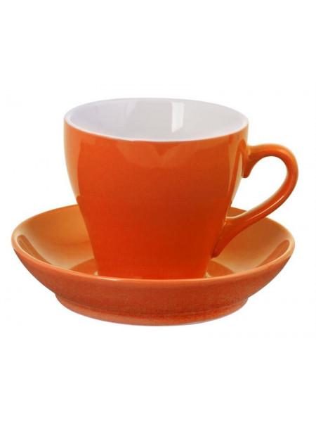 Чайная пара Tulip, оранжевая