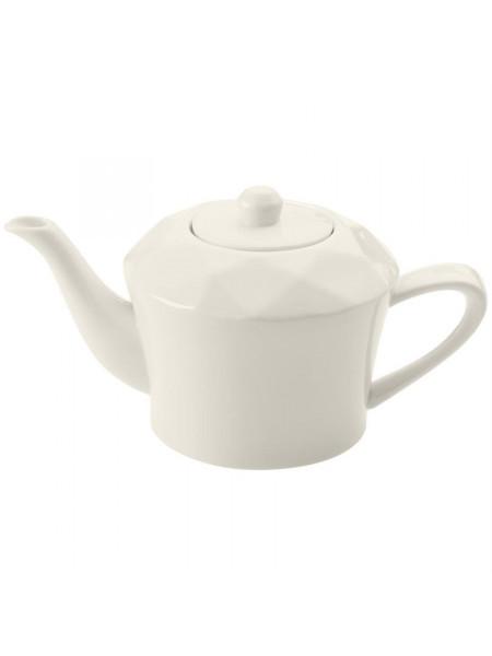 Чайник Diamante Bianco, белый