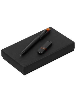 Набор YourDay Black, черно-оранжевый