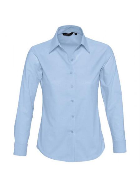 Рубашка женская с длинным рукавом EMBASSY, голубая