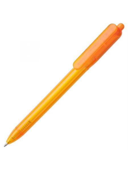 Ручка шариковая Bolide Transparent, оранжевая