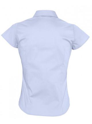 Рубашка женская с коротким рукавом EXCESS, голубая