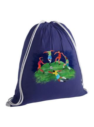 Рюкзак «Футбол via Матисс», синий
