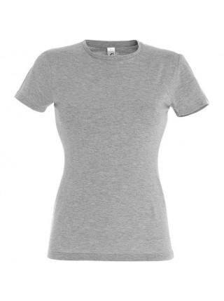 Футболка женская MISS 150, серый меланж