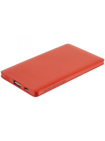Внешний аккумулятор Easy Trick, 4000 мАч, оранжевый