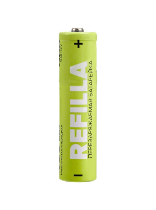 Набор перезаряжаемых батареек Refilla AA, 1000 мАч