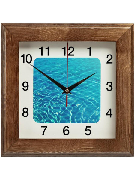 Часы настенные Treenity, дуб